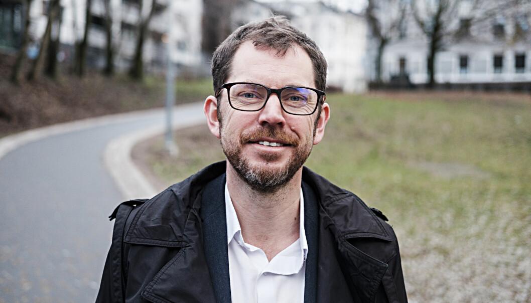 Vårt Land-redaktør Bjørn Kristoffer Bore mener mediemeldingen er lite konkret.   Foto: Vårt Land
