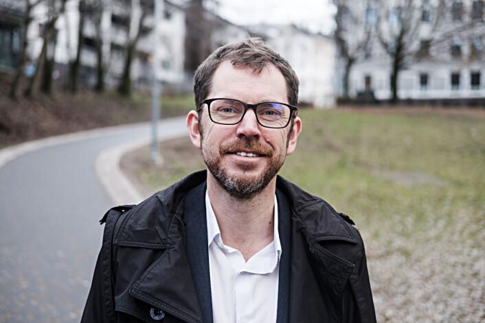 Bjørn Kristoffer Bore, administrerende direktør og ansvarlig redaktør i Vårt Land.