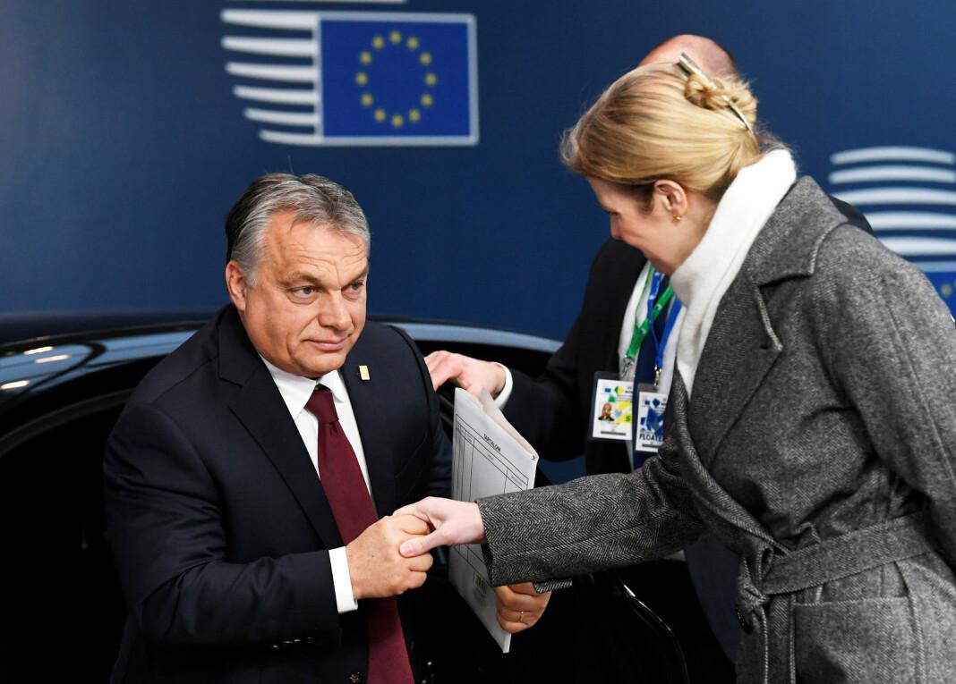 Ti selskaper donerte i forrige uke sine medier til en stiftelse som vil bli styrt av Gabor Liszkay, en utgiver som er kjent for å være lojal til statsminister Viktor Orbán. Foto: Reuters / NTB scanpix