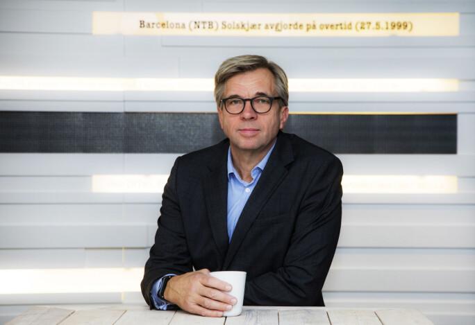 Geir Terje Ruud er fungerende nyhetsredakøtr i NTB. Foto: Thomas Brun / NTB scanpix
