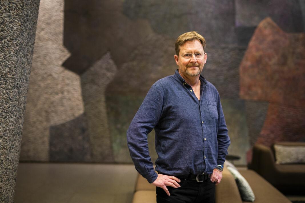 Ansvarlig redaktør i Bistandsaktuelt, Gunnar Zachrisen, er skeptisk til at Leger Uten Grenser setter ulike navn bak samme sitat. Arkivfoto: Kristine Lindebø