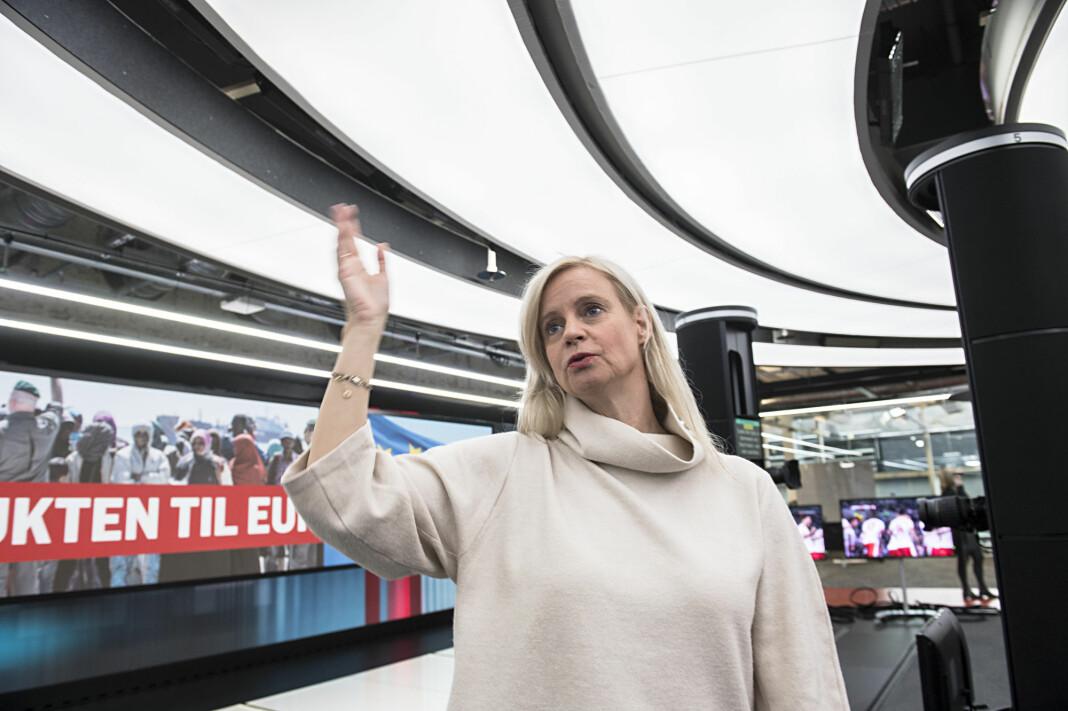 Nyhetsredaktør Karianne Solbrække i TV 2 ønsker en ny diskusjon om medienes omtale av selvmord. Foto: Marit Hommedal / NTB scanpix
