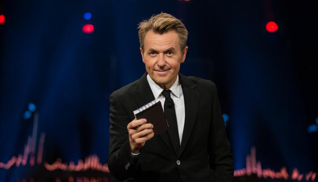 Fredrik Skavlan flyttes fra fredag til lørdag. Foto: TV 2