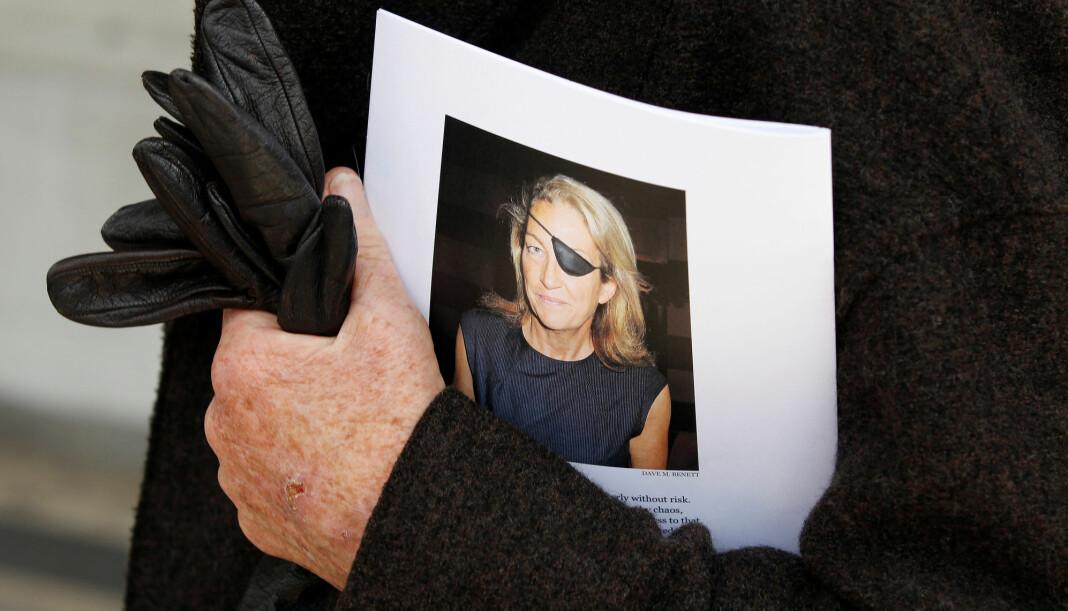 Biografien om krigskorrespondenten Marie Colvin bør være et godt julegavetips til leseglade journalister og redaktører. Foto: Reuters / NTB scanpix