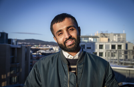 Ahmed Fawad Ashraf er ansatt som debattredaktør i Avisa Oslo