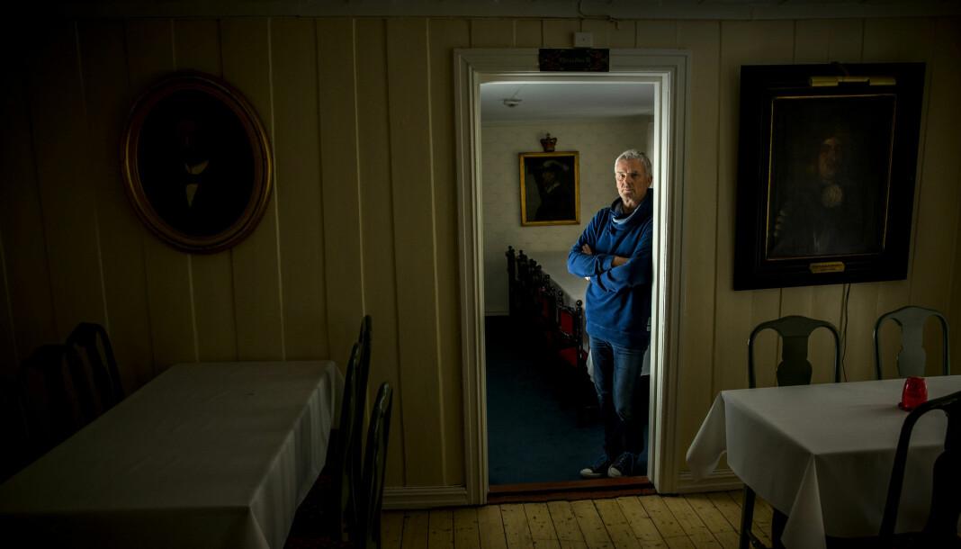 «Åndenes makt» og programleder Tom Strømnæss har laget 14 sesonger av det populære tv-programmet. Foto: Erlend Aas / NTB scanpix