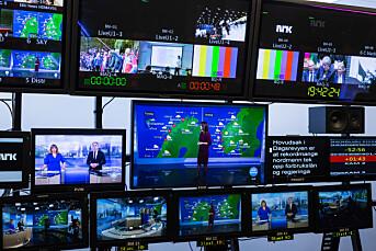 NRK Nyheter har syv av de ti mest sette programmene på lineær-tv i mars