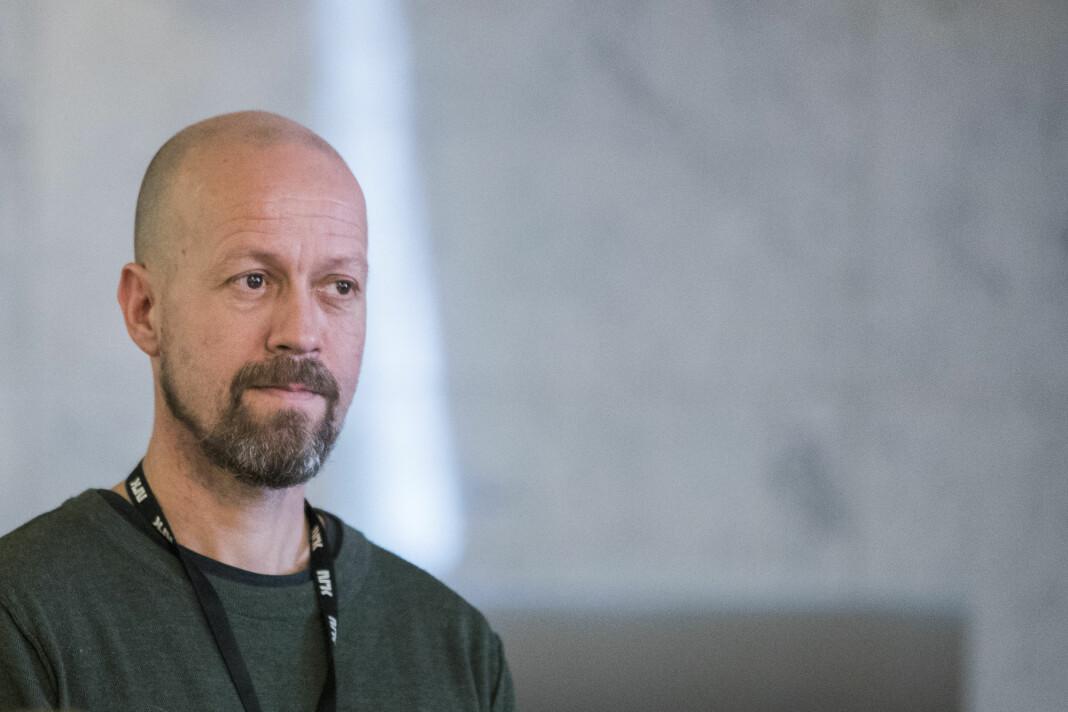 – Det var en tabbe, og det beklager vi, sier NRKs etikkredaktør Per Arne Kalbakk om en misforståelse om taushetsplikt. Foto: Håkon Mosvold Larsen / NTB scanpix