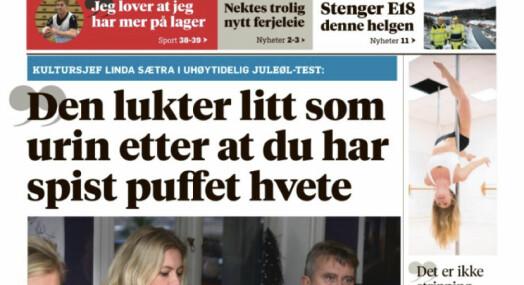 Da kultursjefen fant dette sitatet på forsiden, fikk hun nok - sa opp avisen i sinne