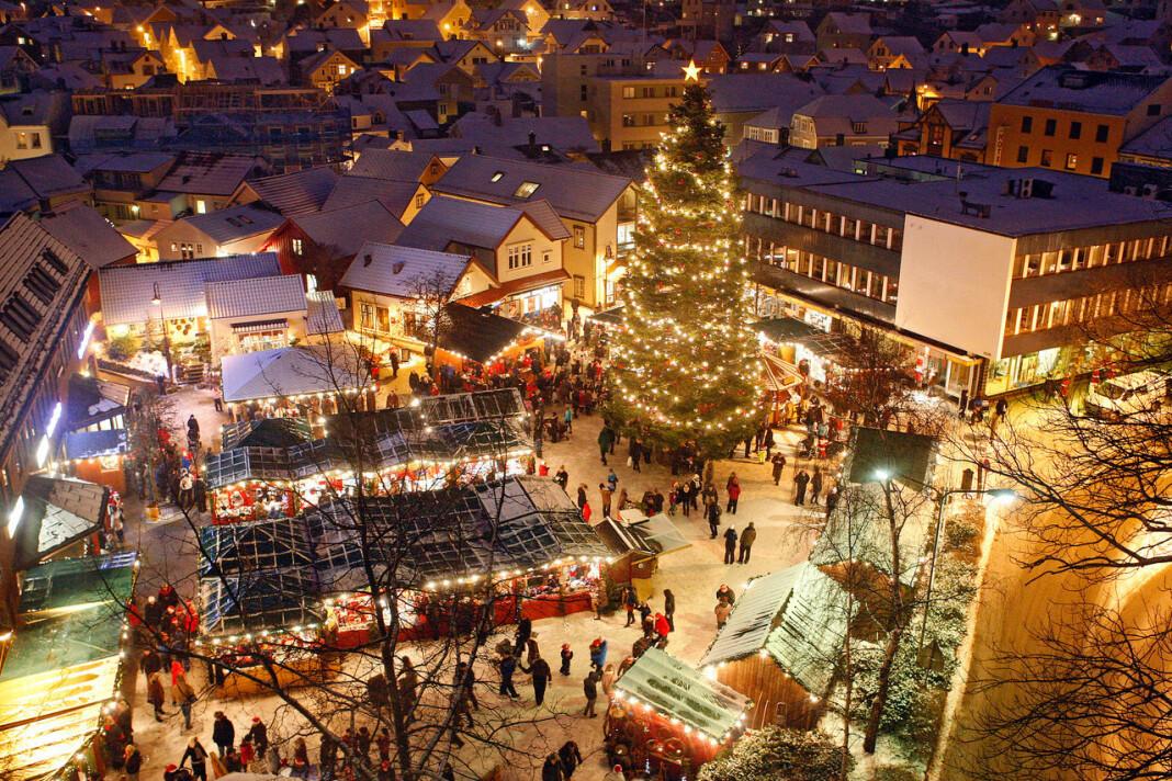 Egersund får en nettavis som etter planen skal eies av abonnentene. Bildet er fra «Julebyen Egersund», som har samme initiativtaker som avisa, Johan Aakre. Foto: Privat