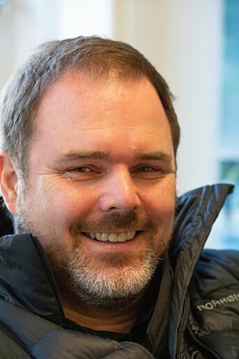 Kjetil Bentsen starter avisa sammen med Aakre. Foto: Privat