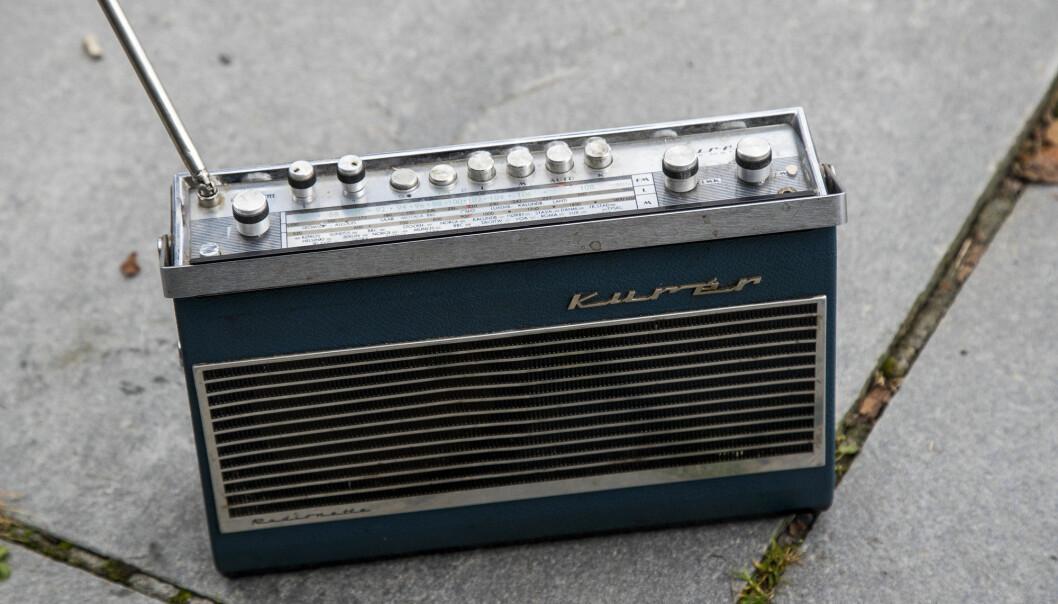 FM-radioer, som denne fra Kuér, kan få forlenget liv etter 2021 hvis lokalradioer får fortsette sendingene sine. Illustrasjonsfoto: Heiko Junge / NTB scanpix