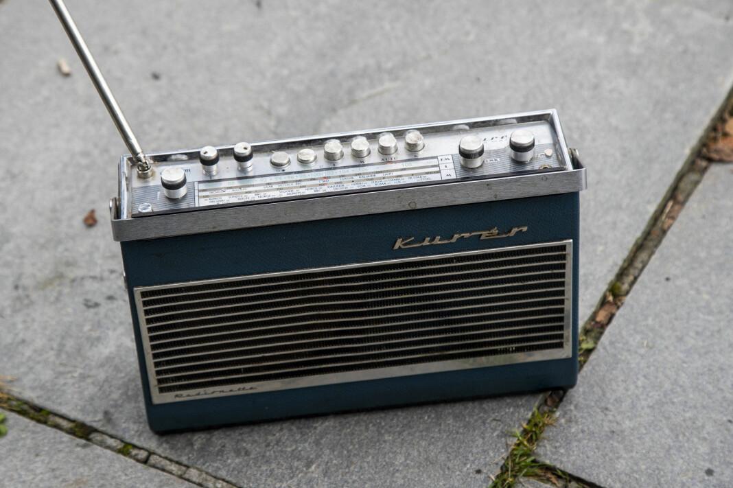 189 lokalradiostasjoner har tillatelse til å fortsette med å sende på FM, foreløpig ut 2021. Kulturdepartementet ber imidlertid om utredning med mulighet for forlengelse. Foto: Heiko Junge / NTB scanpix