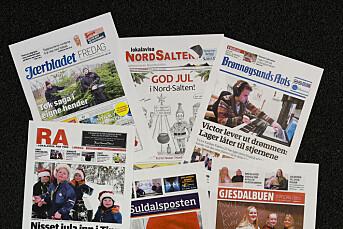 Jule-Norge: Hva melder lokalavisene?