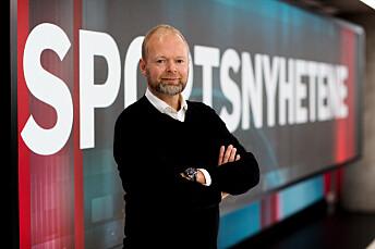 Vegard Jansen Hagen, sportsredaktør i TV 2.