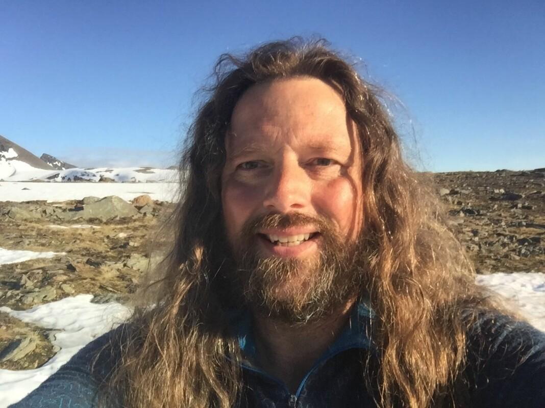 Martin Kristiansen har sluttet som journalist i Lofot-Tidende. Foto: Privat
