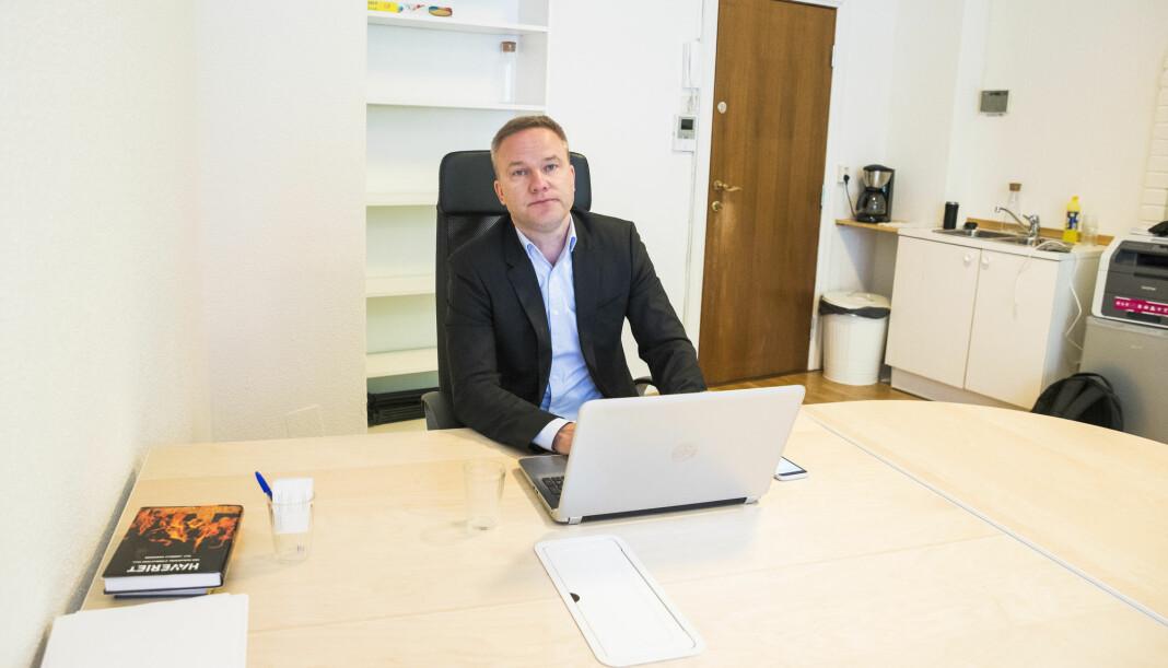 – YFO vil være en organisasjon for en gruppe mennesker som nå opplever at det ikke er reell ytringsfrihet for folk med deres meninger, sier Helge Lurås. Foto: Håkon Mosvold Larsen / NTB scanpix