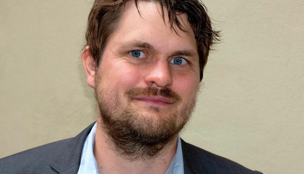 Fra nyttår er Lars Akerhaug ny redaksjonssjef i Resett. Foto: Dreyers Forlag