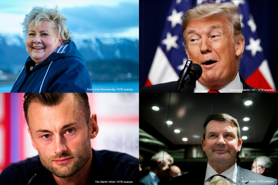 Det var stor interesse for disse fire i Scanpix´ bildedatabase i 2018.