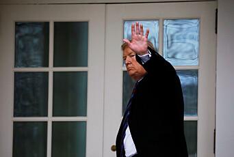 Trump dominerte norske medier i 2018