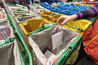 SV vil gi Posten nye oppgaver for å sikre postombæring