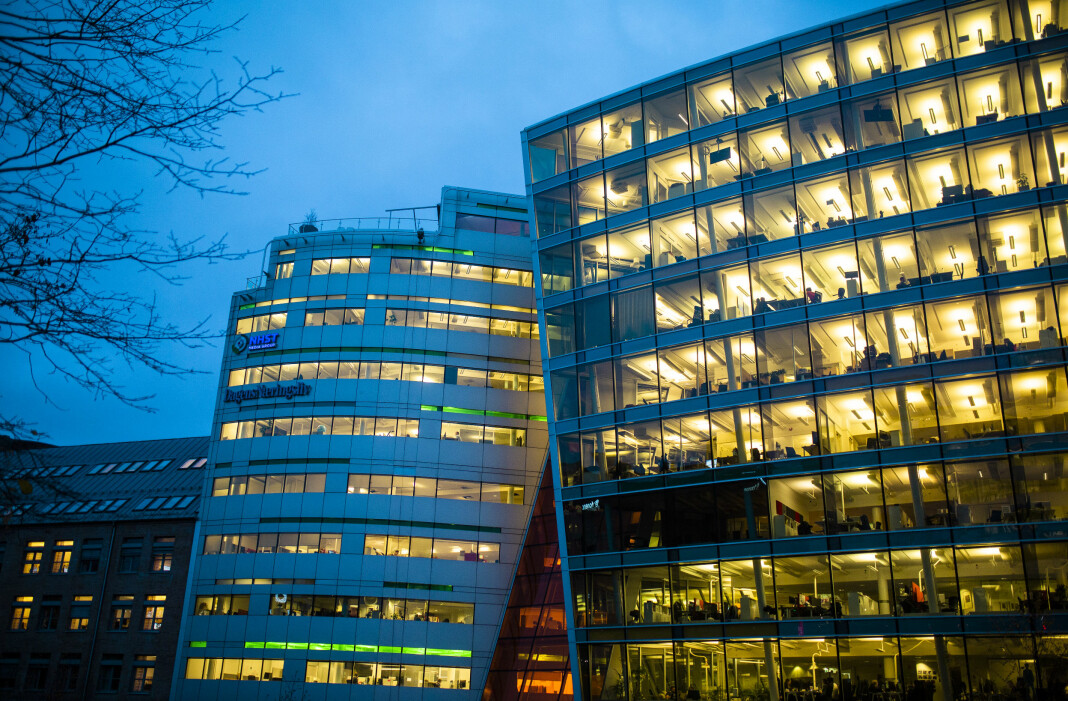 Annonseinntektene til NHST var på 59,7 millioner kroner i første kvartal i år, en nedgang fra 61,8 millioner kroner i samme kvartal i fjor. Foto: Kristine Lindebø