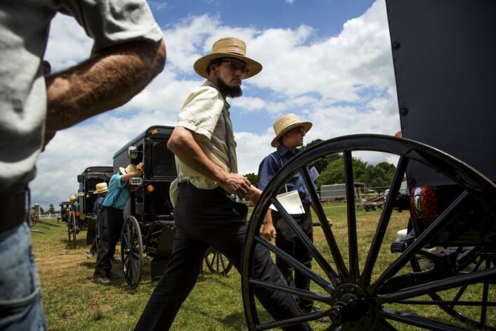 Fra «The Amish World» av Catalina Martin-Chico. Foto: Catalina Martin-Chico
