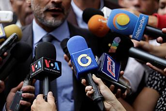 USA innfører sanksjoner mot venezuelansk mediemagnat