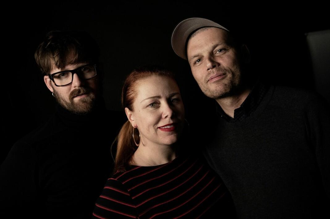 Interessen for Serieprat har vist seg å være stor. Fra venstre: Jonas Brenna, Cecilie Asker og Einar Aarvig. Foto: Paal Audestad/Aftenposten