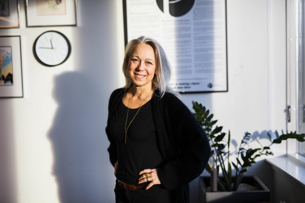 Hilde Tretterud er ny sekretariatsleder i Norsk Journalistlag. Foto: Kristine Lindebø