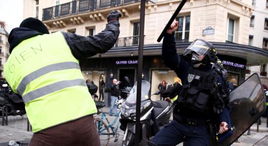 Flere angrep mot journalister under den siste runden med «gule vester»-demonstrasjoner