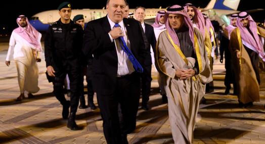 Pompeo presser Saudi-Arabias kronprins om Khashoggi-drapet