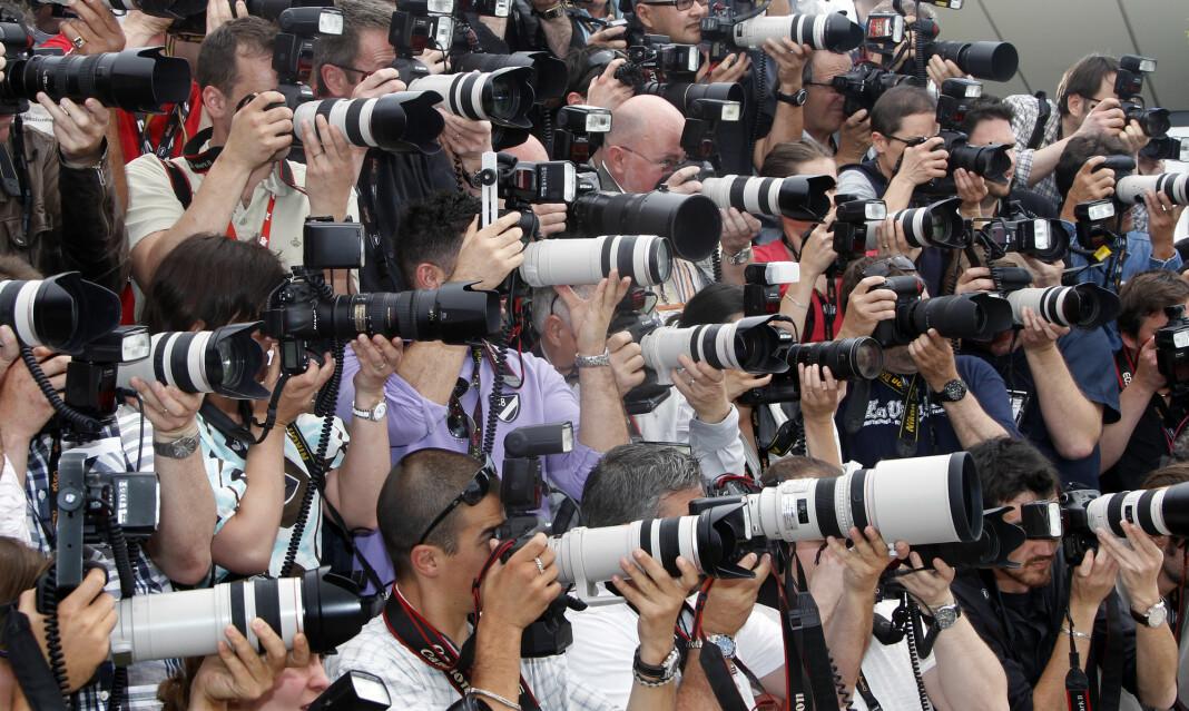 Så langt har over 300 nederlandske fotografer meldt at de har klare for én dags streik. Illustrasjonsfoto: Reuters / NTB scanpix