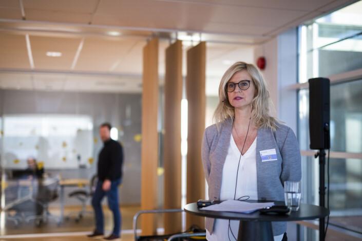 Nyhetsredaktør Karianne Solbrække i TV 2 Nyhetskanalen.