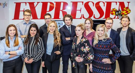 Svenske tilstander i media: Expressen starter året med å ansette 16 journalister