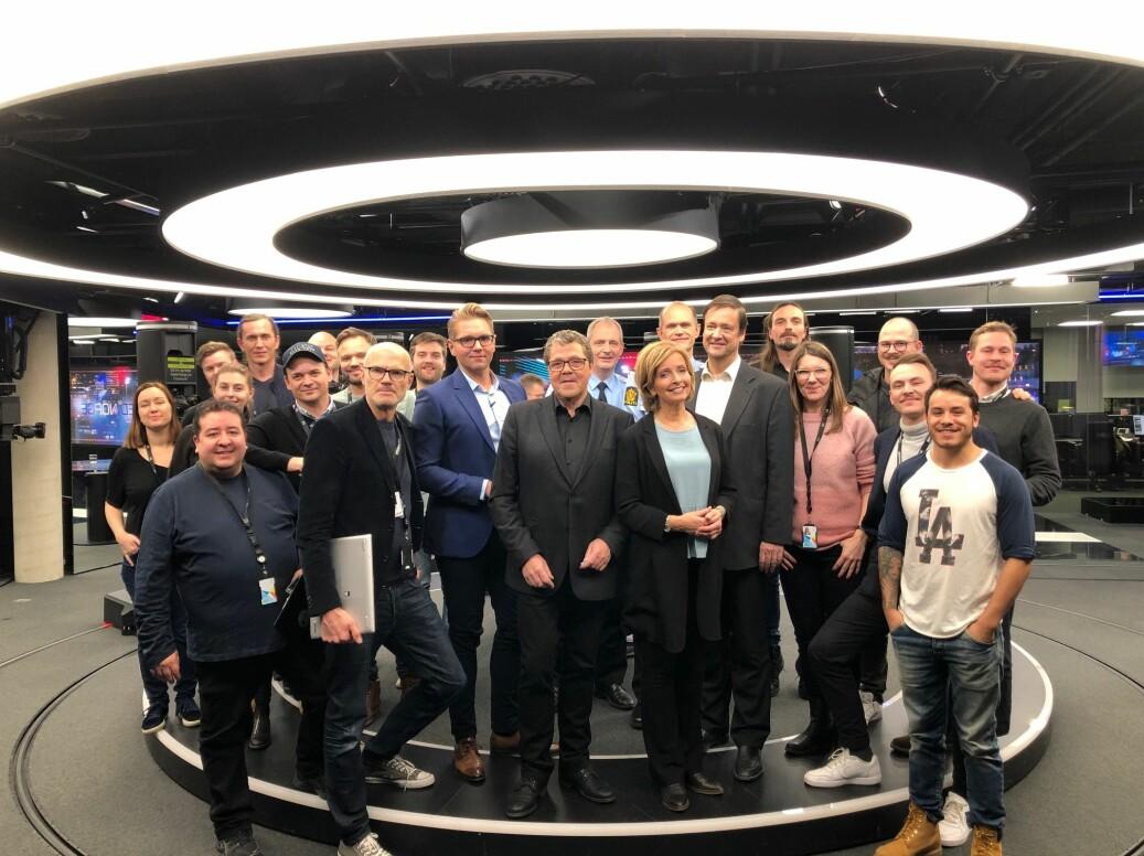 «Åsted Norge»-redaksjonen får ros av TV 2-sjef Olav T. Sandnes. Foto: TV 2