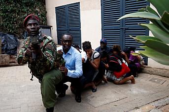 NRKs korrespondent i nabobygget under angrepet i Nairobi