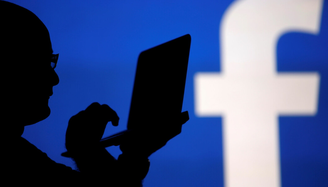 Facebooks algoritmer sørget for at utviklingsredaktør Ole Petter Pedersen ikke fikk dele artikler fra Kommunal Rapport på nettsamfunnet. Illustrasjonsfoto: Reuters / NTB scanpix