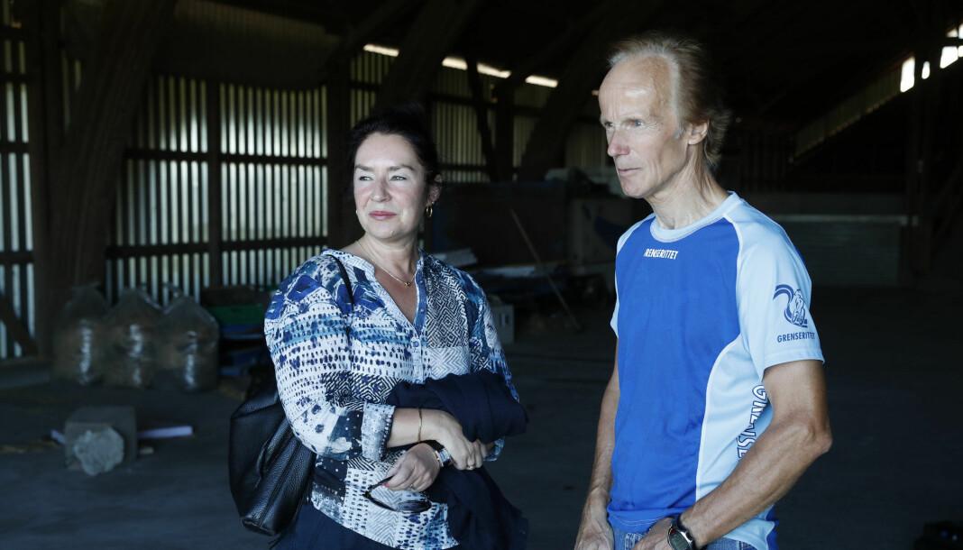 Veronica og Per Orderud var to av hovedpersonene i NRK-serien «Gåten Orderud» i høst. Foto: Cornelius Poppe/NTB Scanpix