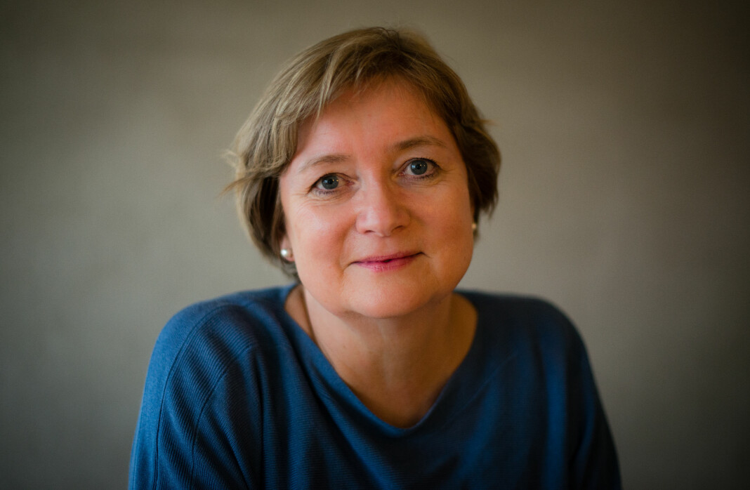 Fungerende leder i Norsk Redaktørforening, Hanna Relling Berg, er foreslått som ny leder i foreninga. Foto: Vidar Flak (innsendt)