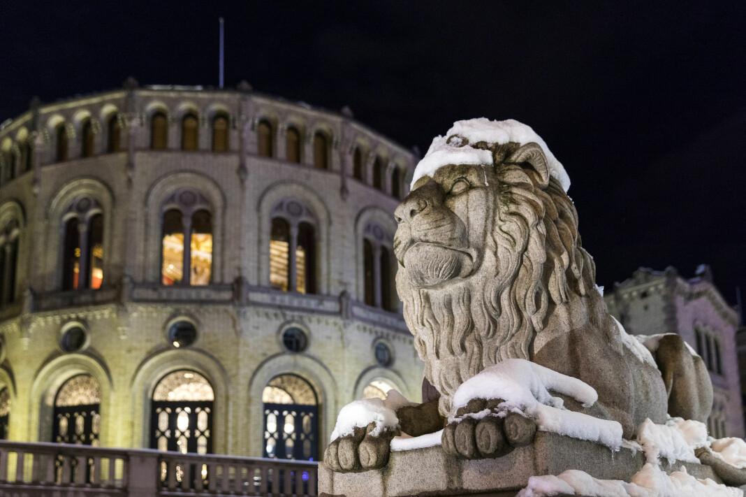 Først fikk Båtliv nei, men så reagerte de politiske partiene som var medarrangører til seminaret på Stortinget. Foto: Gorm Kallestad / NTB scanpix