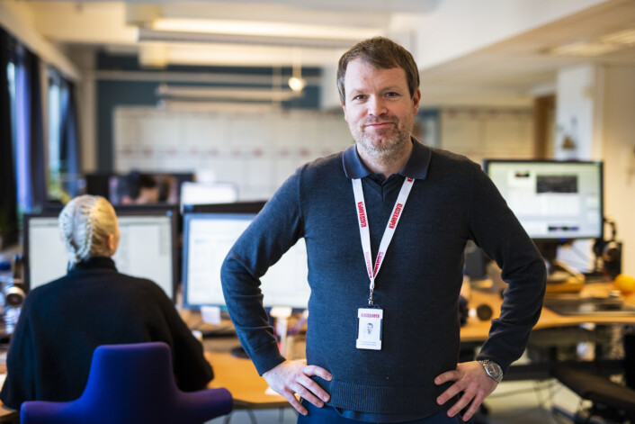 Christian Samuelsen, administrerende direktør i Klassekampen.
