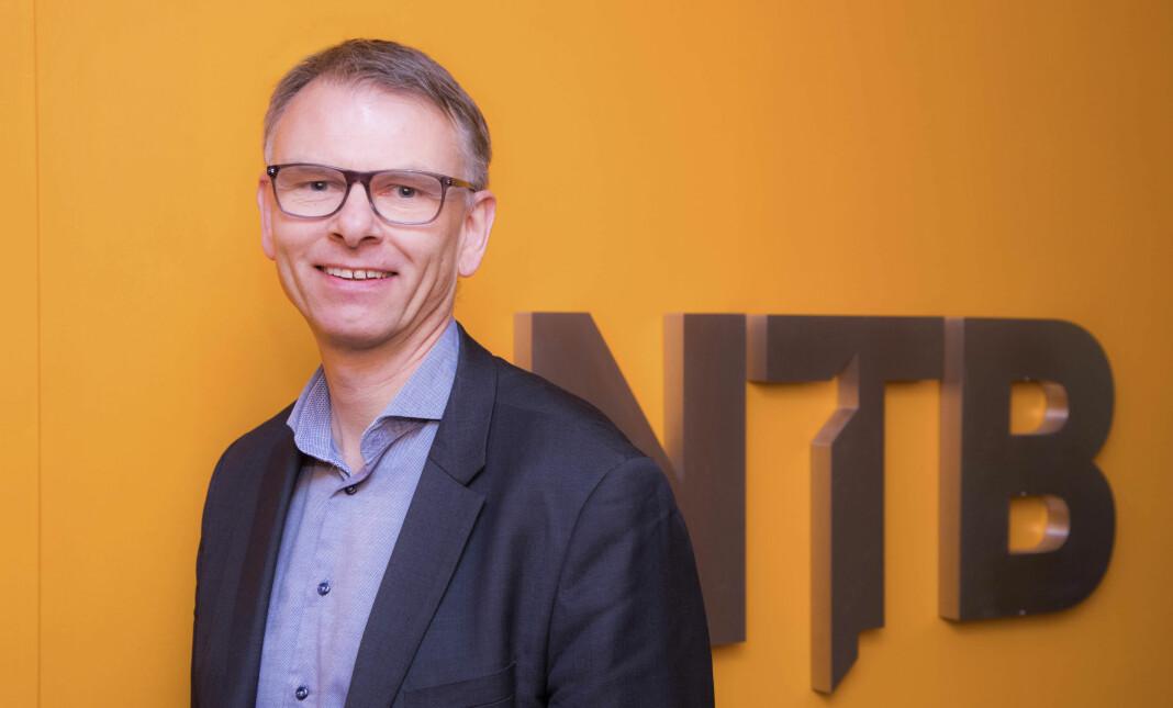 Fra nyhetsredaktør til sportssjef. Ole Kristian Bjellaanes får nye oppgaver i NTB. Foto: Thomas Brun / NTB produksjon