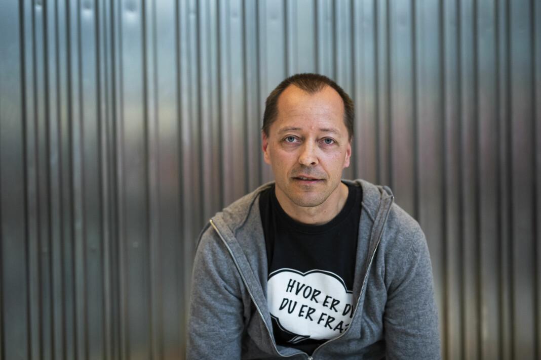 I morgen skal PFU behandle klager mot Demokraten og Fredriksstad Blad, her ved sjefredaktør René Svendsen. Arkivfoto: Kristine Lindebø