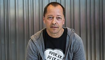 Sjefredaktør René Svendsen i Fredriksstad Blad. Arkivfoto: Kristine Lindebø