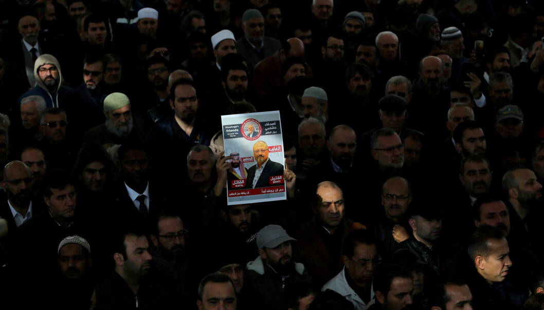 Jamal Khashoggi ble drept i Saudi-Arabias konsulat i Istanbul i oktober. Foto: Reuters / NTB scanpix