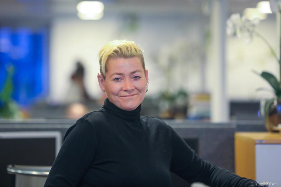Nordlys-journalist Inger Thuen har tilbrakt mange dager med å dekke kommunestyremøter. En av gangene ble mer spesiell enn de andre. Foto: Yngve Olsen