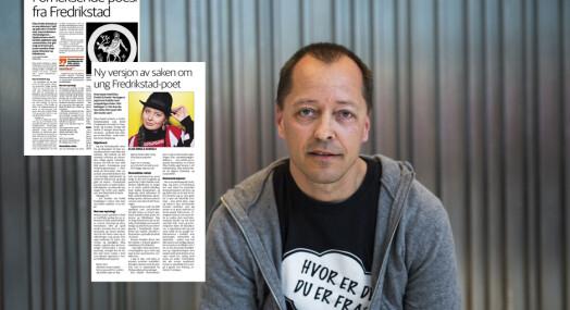 Fredriksstad Blad trykket ny artikkel for å rette feil - ble likevel felt i PFU