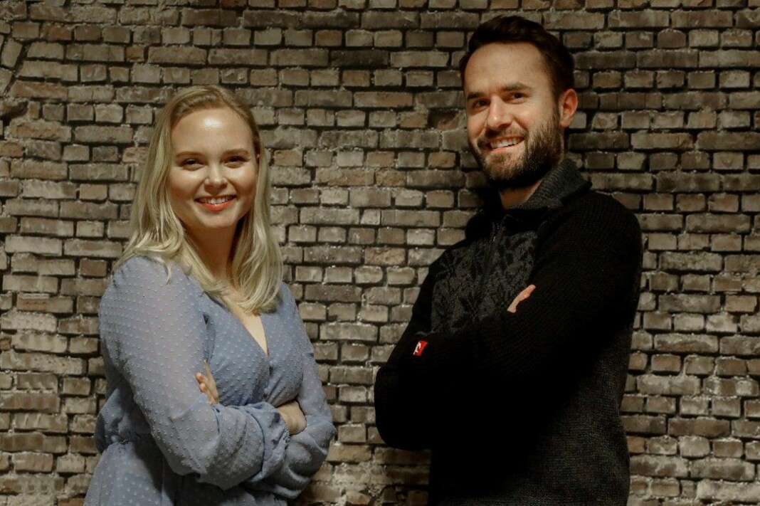 To nyansettelser i Haugesunds Avis: Ine Rossebø Knudsen og Marius Amdal Haugen. Foto: Alfred Aase / Haugesunds Avis