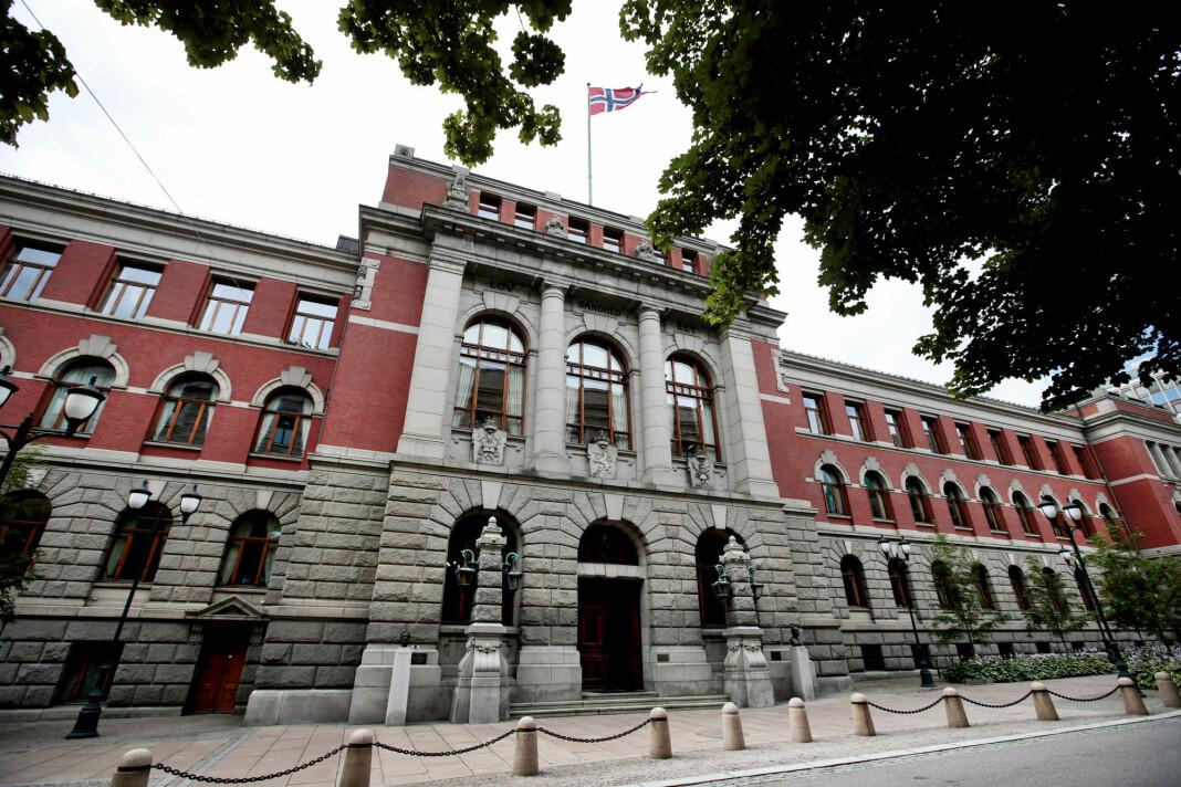 Høyesteretts hus i Oslo, setet for Norges Høyesterett. Foto: Lise Åserud / NTB scanpix